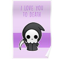 I Love You To Death Poster