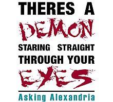 Asking Alexandria The Black Photographic Print