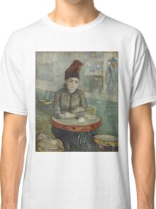 Vincent Van Gogh - In the café Agostina Segatori in Le Tambourin, January 1887 - March 1887 Classic T-Shirt
