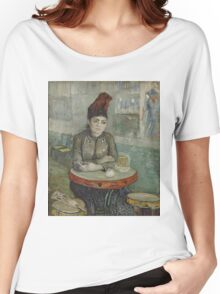 Vincent Van Gogh - In the café Agostina Segatori in Le Tambourin, January 1887 - March 1887 Women's Relaxed Fit T-Shirt