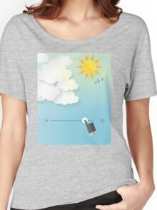 Adjust the weather Women's Relaxed Fit T-Shirt