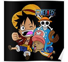 LUFFI COOPER - ONE PIECE Poster