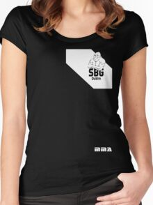 Conor McGregor Fight Camp - SBG Dublin (check artist notes for limited edition link)  Women's Fitted Scoop T-Shirt