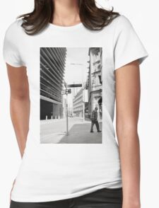 Walk Off - Downtown Leicester Womens Fitted T-Shirt