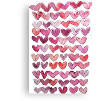 I Heart U  Canvas Print