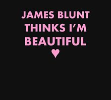 James Blunt thinks I'm beautiful (pink) Women's Fitted Scoop T-Shirt