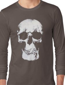 Sherlock Why Do You Have a Skull on Your Wall? Long Sleeve T-Shirt