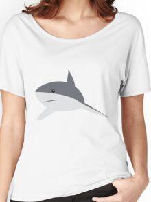 Minimal shark Women's Relaxed Fit T-Shirt