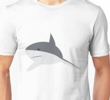 Minimal shark Unisex T-Shirt