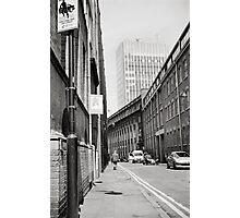 Wimbledon Street in the Sun Photographic Print