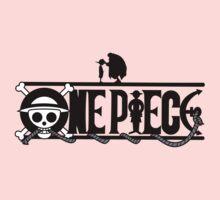 Luffi and Whitebeard - One Piece Kids Tee