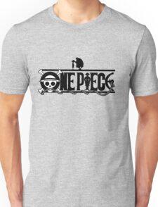 Luffi and Whitebeard - One Piece Unisex T-Shirt