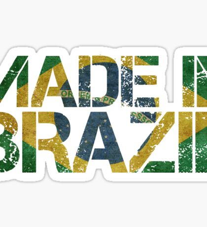 Brazil Brazilian Flag Sticker