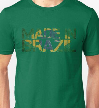 Brazil Brazilian Flag Unisex T-Shirt