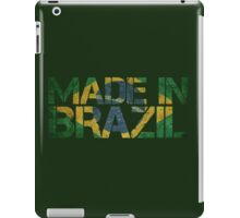 Brazil Brazilian Flag iPad Case/Skin