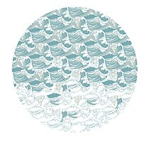 Big blue wave Photographic Print