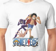 Luffi and Nico Robin - One Piece Unisex T-Shirt