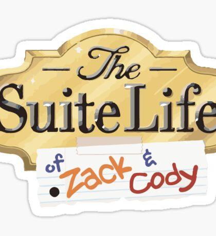 Suite Life of Zack & Cody Sticker