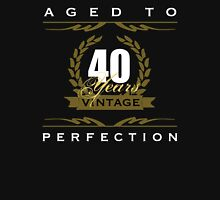 Vintage 40th Birthday Unisex T-Shirt