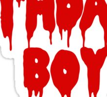 Birthday Boy Sticker
