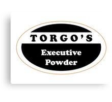 Torgo's Executive powder Canvas Print