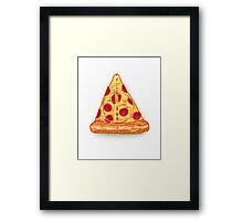 Deathly Pizza Framed Print