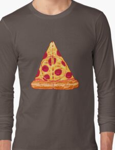 Deathly Pizza Long Sleeve T-Shirt