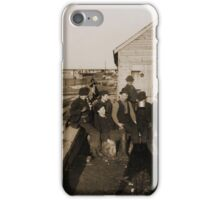 The Mongomery Guards (A Growler Gang),  Jacob Riis, iPhone Case/Skin
