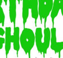 Birthday Ghoul Sticker