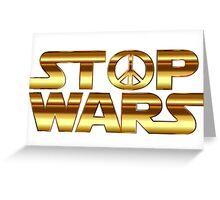 Star Wars Peace Hippie Greeting Card