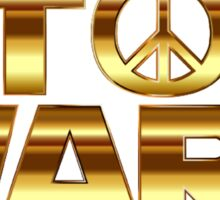 Star Wars Peace Hippie Sticker