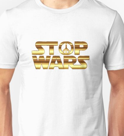 Star Wars Peace Hippie Unisex T-Shirt