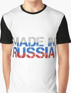 Russia Russian Flag Graphic T-Shirt