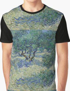 Vincent Van Gogh - Olive Orchard Graphic T-Shirt