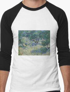 Vincent Van Gogh - Olive Orchard Men's Baseball ¾ T-Shirt