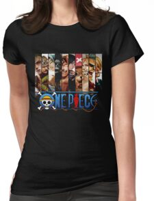 One Piece - Characters 000 Womens Fitted T-Shirt