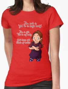 A Girl in a Girl's Body shirt T-Shirt