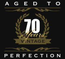 Vintage 70th Birthday by thepixelgarden