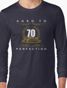 Vintage 70th Birthday Long Sleeve T-Shirt