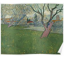 Vincent Van Gogh - Orchards in blossom, view of Arles Poster