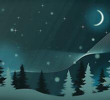 Winter scene by Sebastien Coell