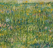 Vincent Van Gogh - Patch of grass, 1887 by famousartworks