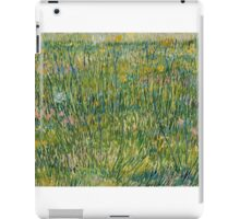 Vincent Van Gogh - Patch of grass iPad Case/Skin
