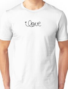 Love is not a losing game Unisex T-Shirt