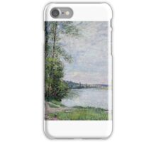 The Riverside Road from Veneux to Thomery,  iPhone Case/Skin