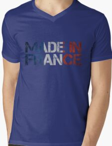 France French Flag Mens V-Neck T-Shirt