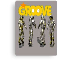 space groove.. Canvas Print