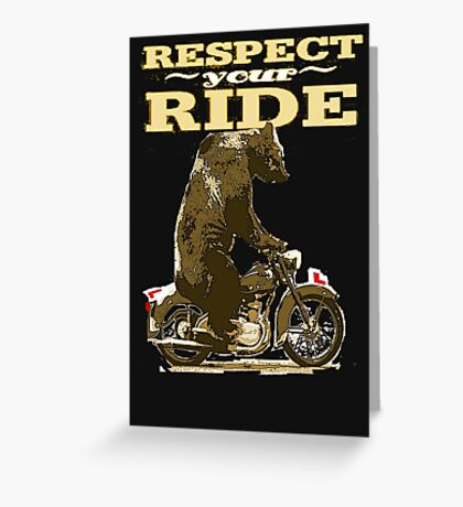 RESPECT. Greeting Card