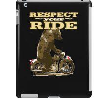 RESPECT. iPad Case/Skin
