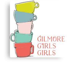 Gilmore girls-coffee Metal Print